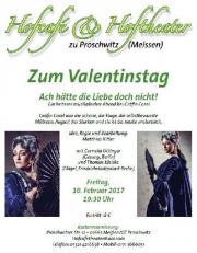 Veranstaltung in Proschwitz (