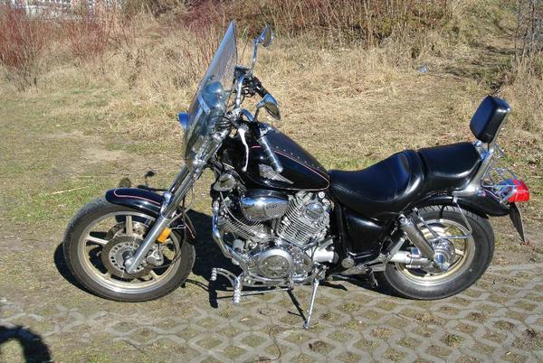verkaufe motorrad yamaha virago xv1100 in berlin chopper. Black Bedroom Furniture Sets. Home Design Ideas