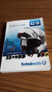 Verkaufe neuwertigen Motorrradhelm Schuberth C3