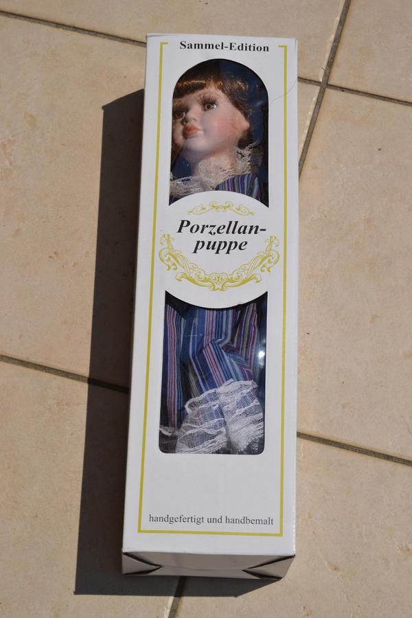 Verkaufe Porzellan-Puppe Sammel-Edition TOP-Zustand handgefertigt