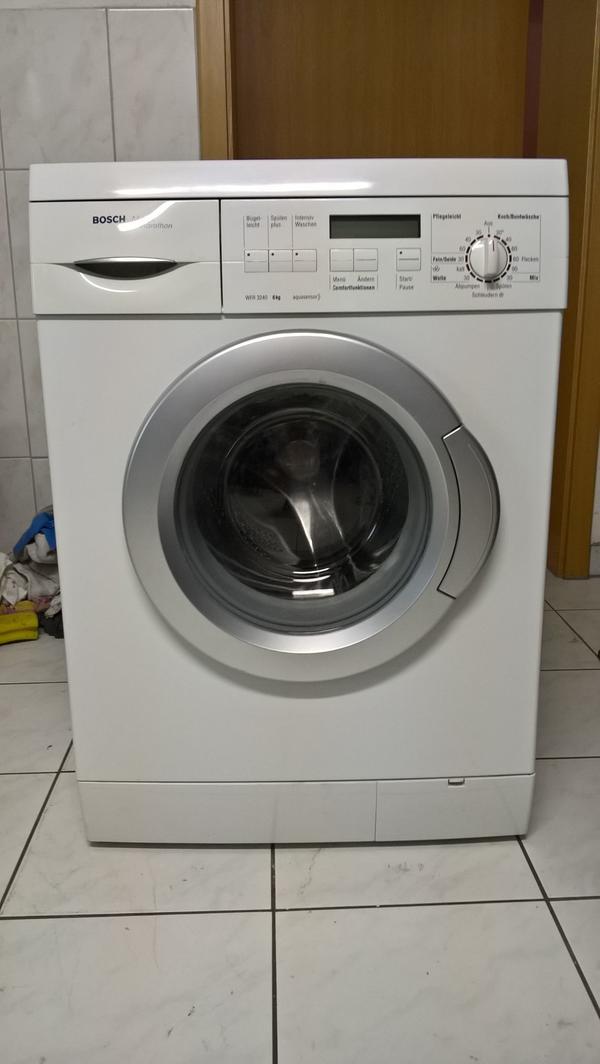 verkaufe waschmaschine bosch maxx marathon wfr 3240 in passau waschmaschinen kaufen und