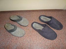 Getragene Wäsche - Verschiedene getragene Schuhe