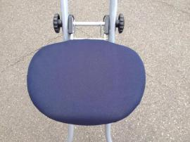 Bild 4 - verstellbarer Bügelstuhl zusammenklappbar TOP-ZUSTAND - Oberasbach