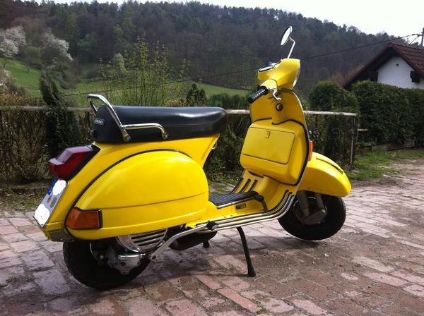vespa px 80 134 ccm motor bj 1983 t v neu in berglen. Black Bedroom Furniture Sets. Home Design Ideas