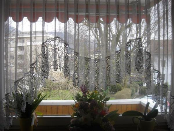 Vorhang für Blumenfenster