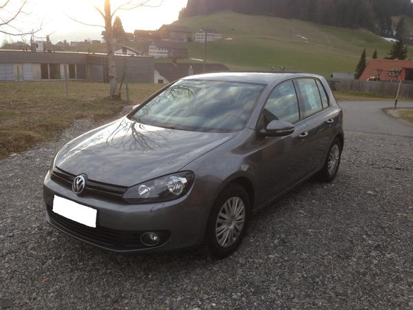 vw golf vi trendline 1 6 tdi 105ps bluemotion in hittisau. Black Bedroom Furniture Sets. Home Design Ideas