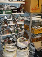 Waschmaschinen-Ersatzteilesammlung