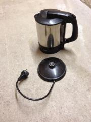 Wasserkocher Clatronic Edelstahl abnehmbar