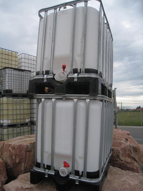 gebraucht 1000 Liter Wassertank