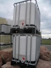 Wassertank bzw IBC Behälter 650