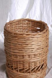 Weidenkorb-Regalkorb- Wäschekorb-Müllkorb rund