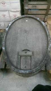 Weinfass Front Rücken