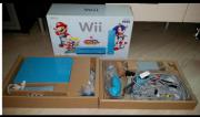 Wii in Blau,