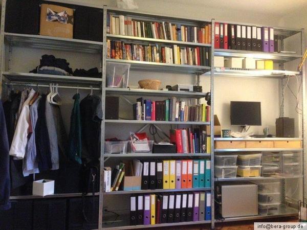 Wohnwand design wand  Wohnwand Wohnzimmer Wohn Design Wand System Haller Steckregal ...