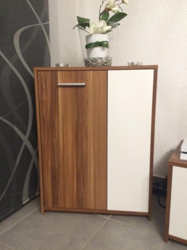 wohnzimmerwand in braun weiß in saarbrücken - wohnzimmerschränke ...