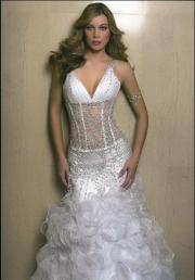 Wunderschönes Designer Brautkleid