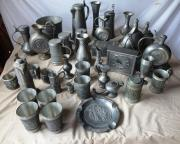 Zinn Krüge Vasen