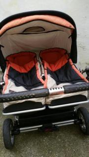 Zwillingskinderwagen hartan  Zwillingskinderwagen Hartan ZX II Für Junge und Mädchen in ...